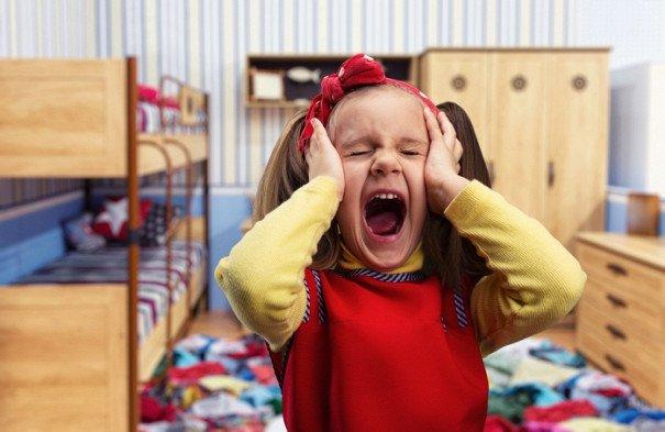 Детские истерики перед сном