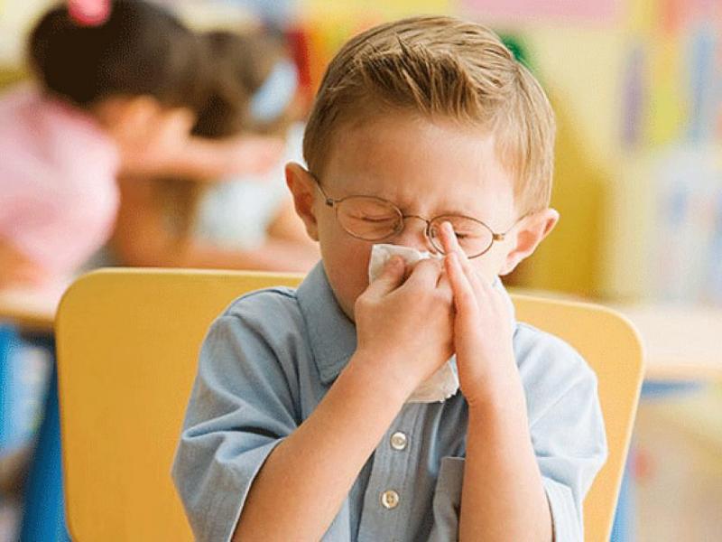 Частые болезни в детском саду