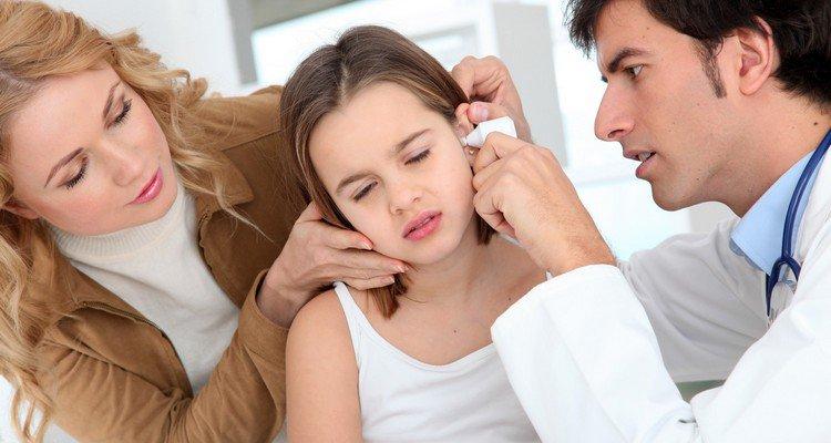 Родителям о детских болезнях уха
