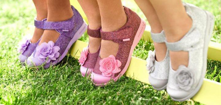 Детские босоножки для маленькой ножки