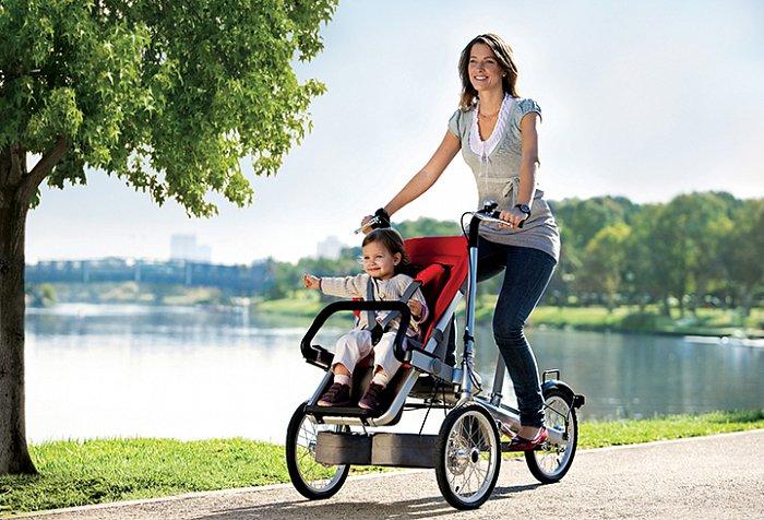 Отзывы мамочек о тех велоколясках