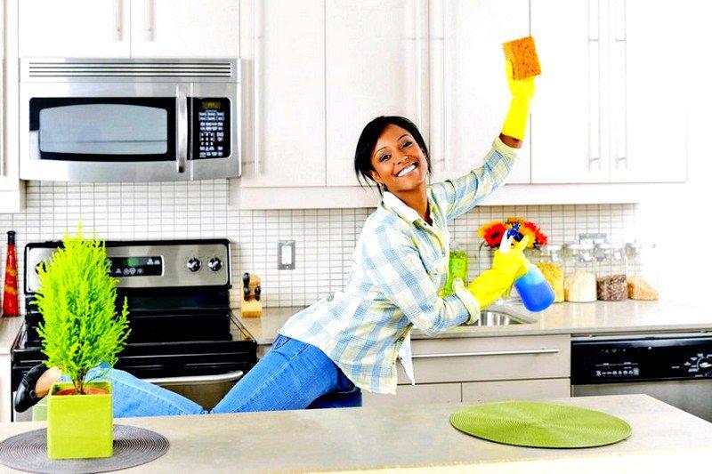 Как правильно убираться в квартире
