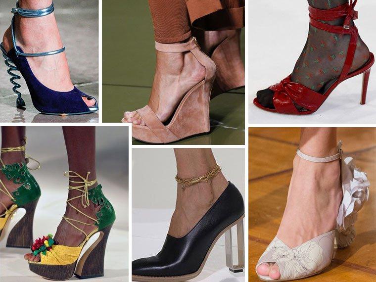 Классическая женская обувь, ее особенности