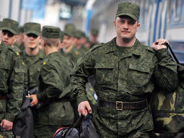 Призывной возраст на военные сборы в России 2018