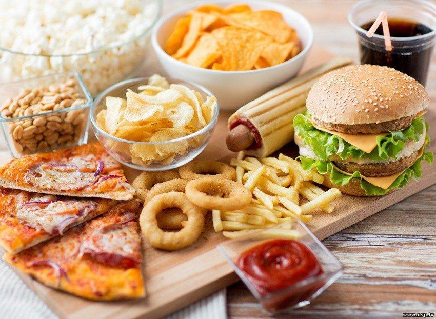 Самая вредная еда, вредные жиры