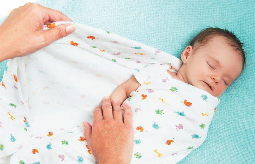 Способы пеленания новорожденного