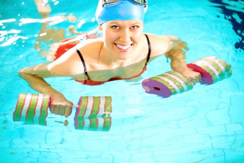 Худеем с помощью плавания