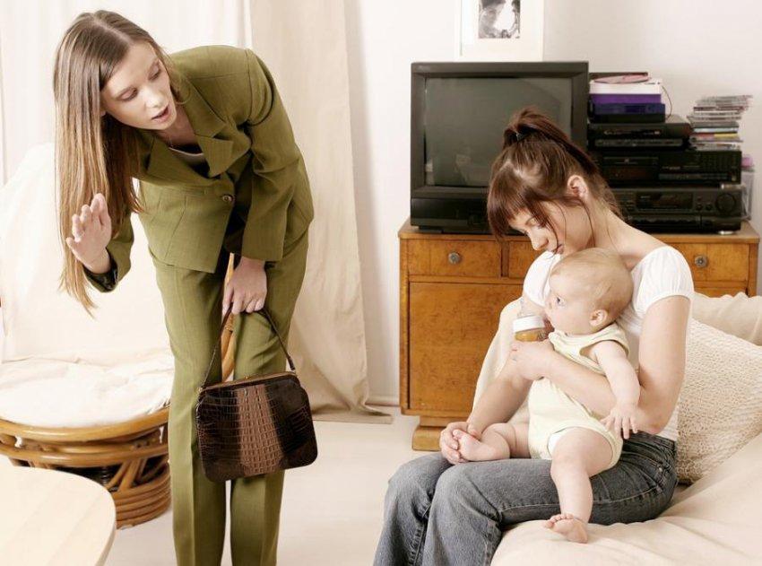 Помочь няне в отношениях с ребенком