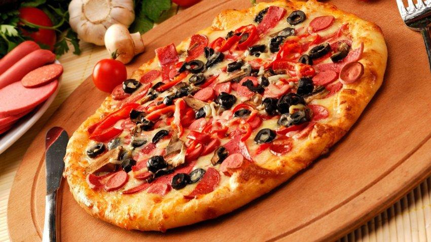 Простые рецепты пиццы итальянской кухни