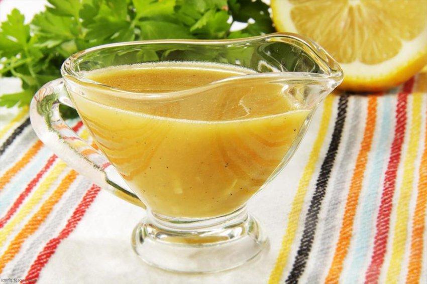 Соус с медом для салата Тако