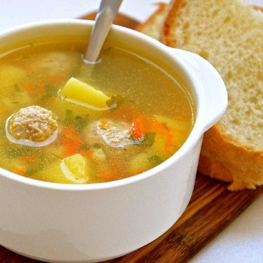 Рецепт супа с мясными шариками