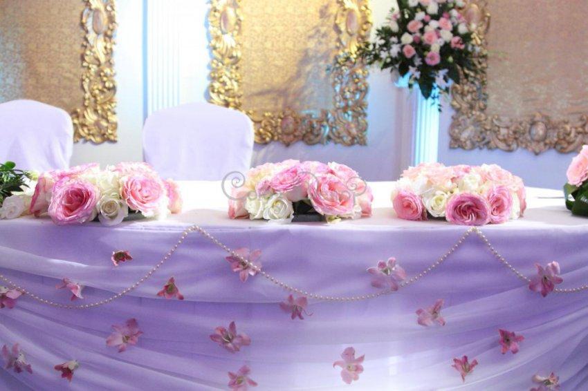 Каким должен быть стол невесты и жениха