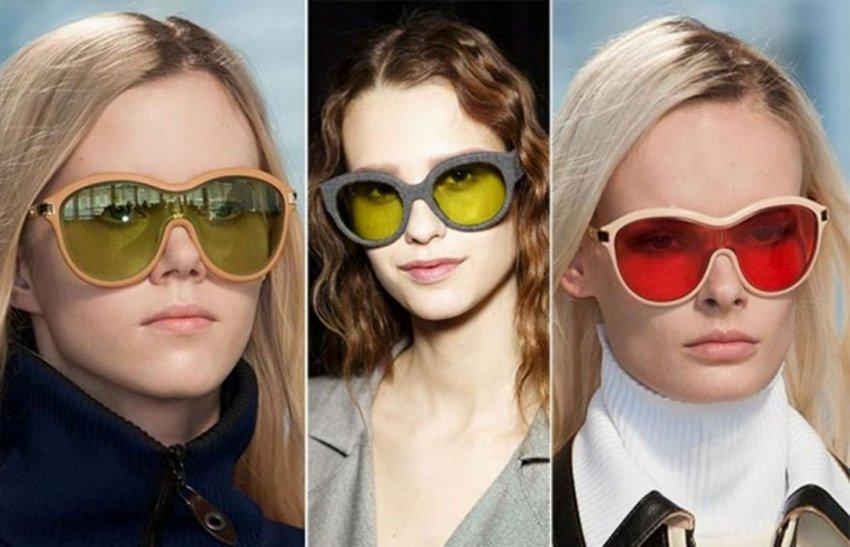 Солнцезащитные очки лето 2018