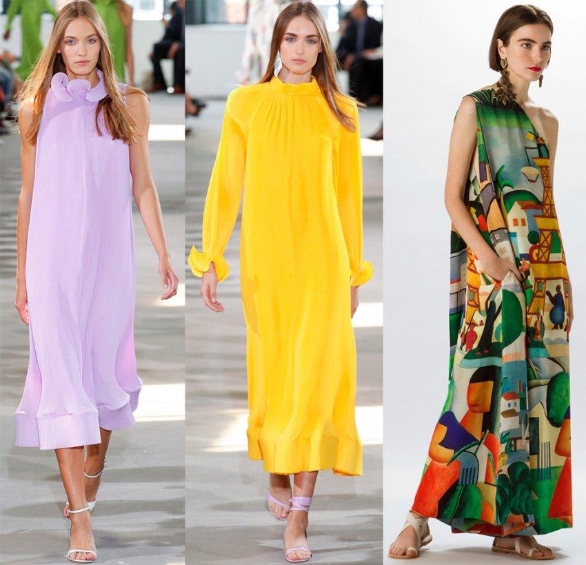 Выбрать платье на лето 2018