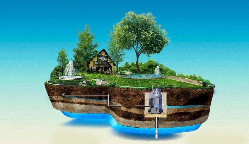 Как найти воду на участке