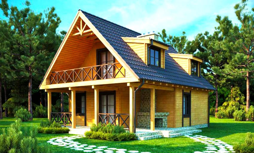Что нужно, чтобы построить дачный дом своими руками