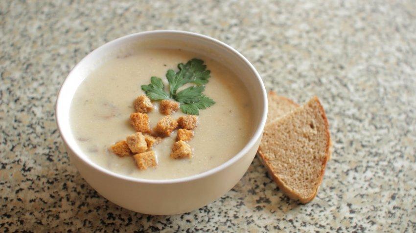 Рецепт сливочного супа пюре