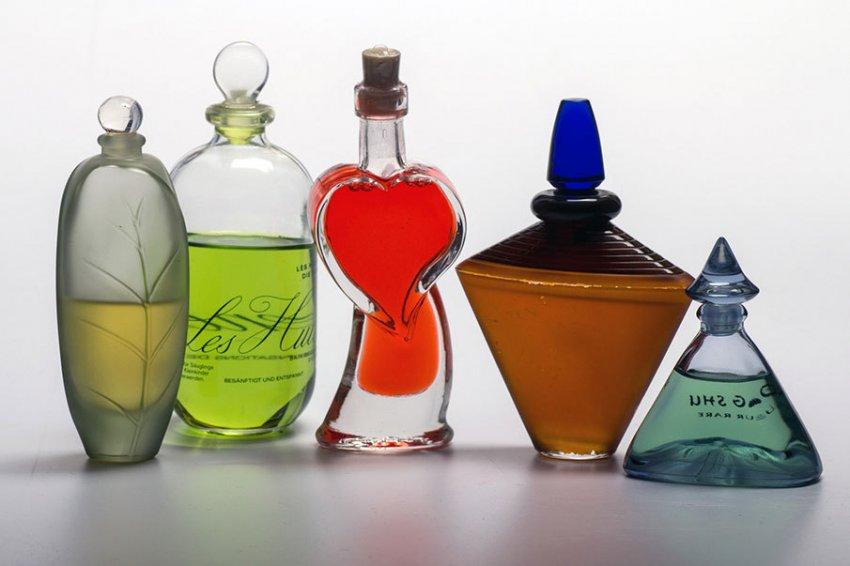 Компоненты, которые входят в состав духов