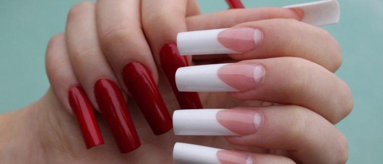 Нарощенные ногти: распространенные дефекты