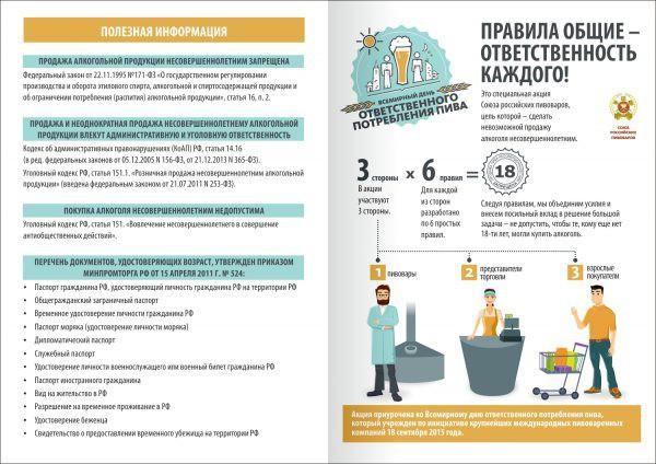 Закон о запрете продажи алкоголя: Ростов 2018 год
