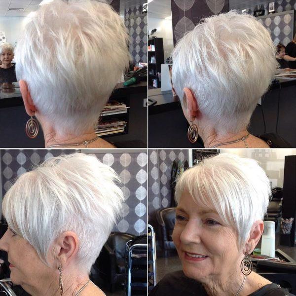 Модные стрижки на короткие волосы для женщин за 50