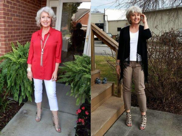 Мода для женщин за 50: лето 2018