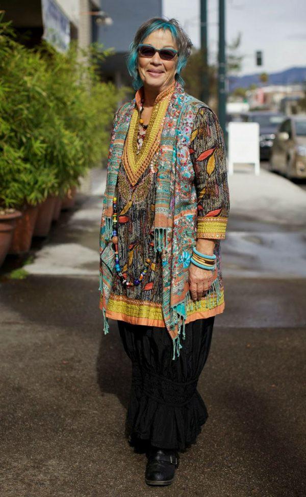 Одежда в стиле бохо для тех кому за 50