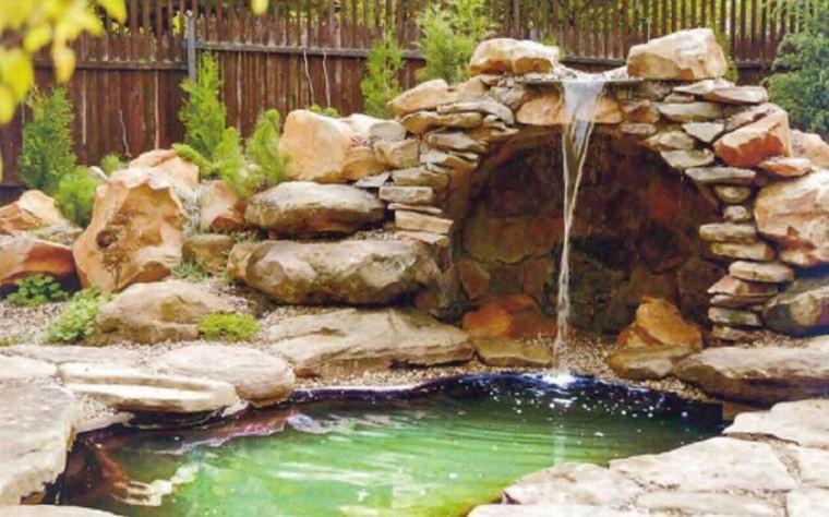 Как сделать водопад на даче своими руками — от выбора места до результата