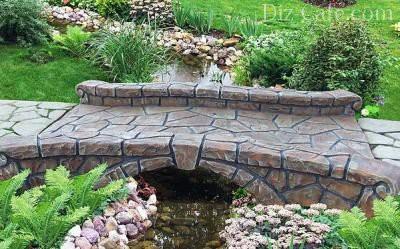Мостики в саду своими руками: как самому сделать деревянный садовый мостик
