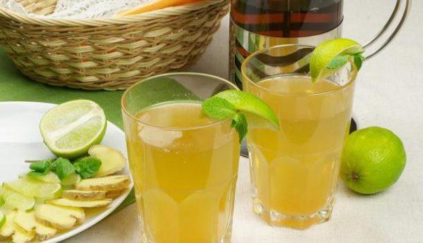 Как готовить и пить имбирный напиток для похудения