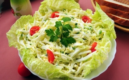 Салат из пекинской капусты рецепты
