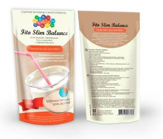 Коктейль для похудения Fito Slim Balance (Фито Слим Баланс)