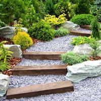 Как сделать ступени на дачном участке — ландшафтное оформление сада