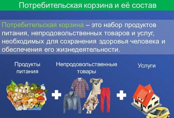 Прожиточный минимум с 1 января 2019 года: Московская область