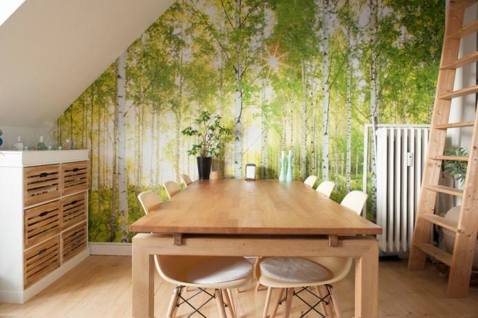 Фотообои расширяющие пространство: 70 лучших фото и идей для маленьких комнат