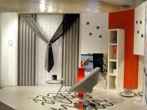 Шторы портьеры для зала спальни или гостиной ФОТО, виды портьерной ткани