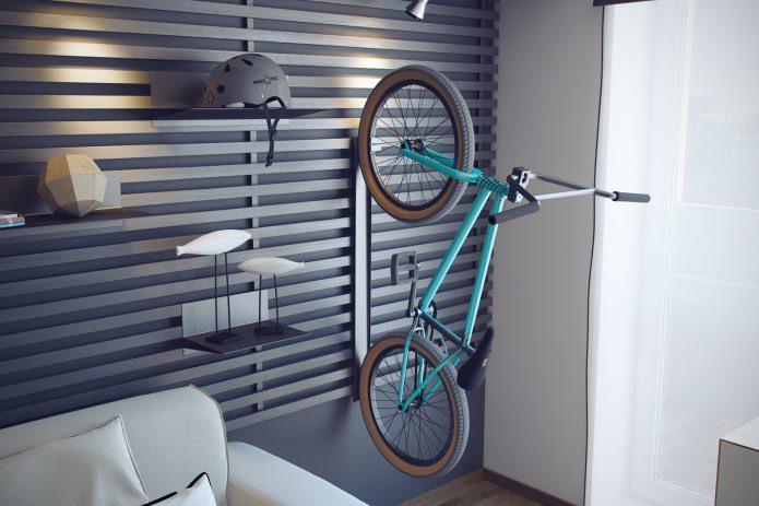 Современный дизайн молодежной комнаты