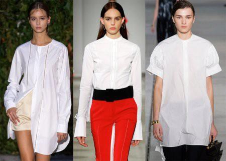 Модные блузки-рубашки сезона весна-лето-2018