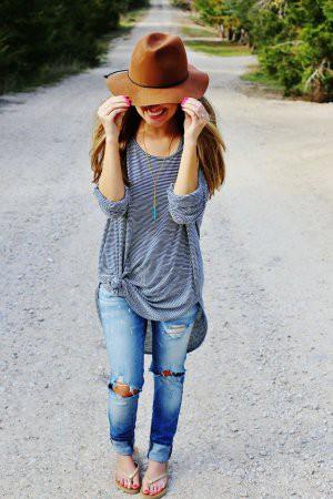 Модные прямые джинсы – 2017