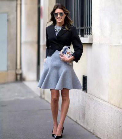 Модные юбки-годе — 2017
