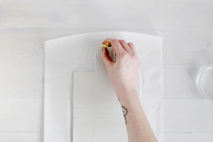 Сервировочная доска из полимерной глины своими руками