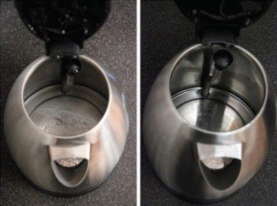 Как удалить накипь в электрочайнике: полезные советы
