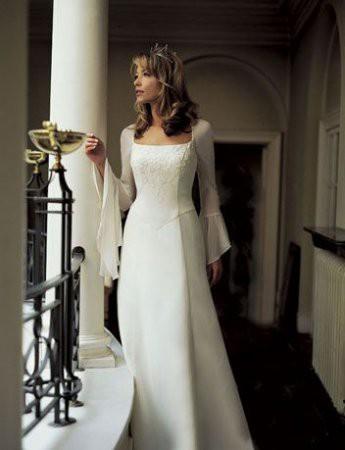 Свадебные платья с длинным рукавом