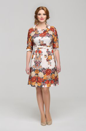 Модные платья из платков – 2017