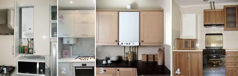 Как скрыть или перенести коммуникации на кухне – все способы с фото