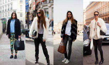 Модные шубы: с чем носить?