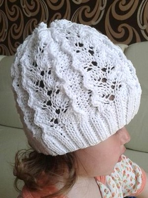 Ажурные шапки для девочек – 2018
