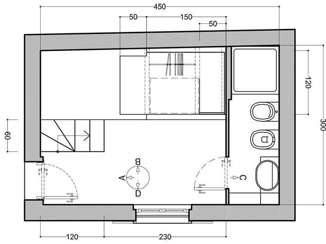 Дизайн квартиры 15 кв
