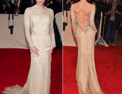Выбираем платье с открытой спиной