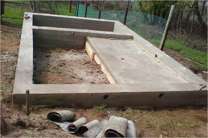Фундамент под баню — Строим баню или сауну